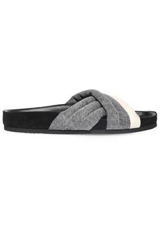 Isabel Marant 20mm Holden Denim Slide Sandals