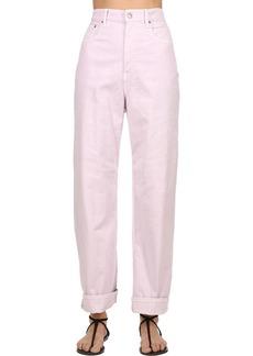 Isabel Marant 22cm Stretch Cotton Denim Jeans