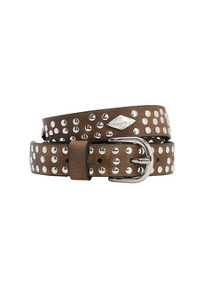 Isabel Marant 25mm Zalli  Leather Belt W/studs