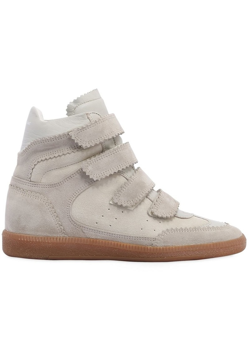 2fb64027762 On Sale today! Isabel Marant 40mm Bilsy Suede Wedge Sneakers