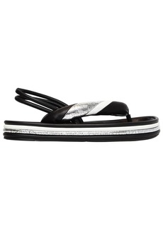 Isabel Marant 40mm Estanee Padded Leather Sandals