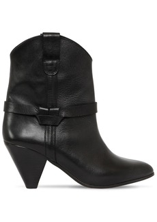 Isabel Marant 75mm Deane Leather Cowboy Boots