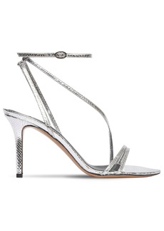 Isabel Marant 85mm Axee Python Print Leather Sandals