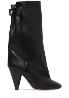 Isabel Marant 90mm Lakfee Tall Leather Boots