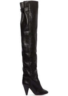 Isabel Marant 90mm Likita Leather Over-the-knee Boots