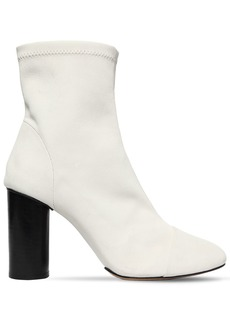 Isabel Marant 90mm Rillyan Stretch Leather Ankle Boots