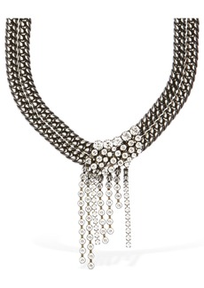 Isabel Marant A Wild Shore Crystal Short Necklace