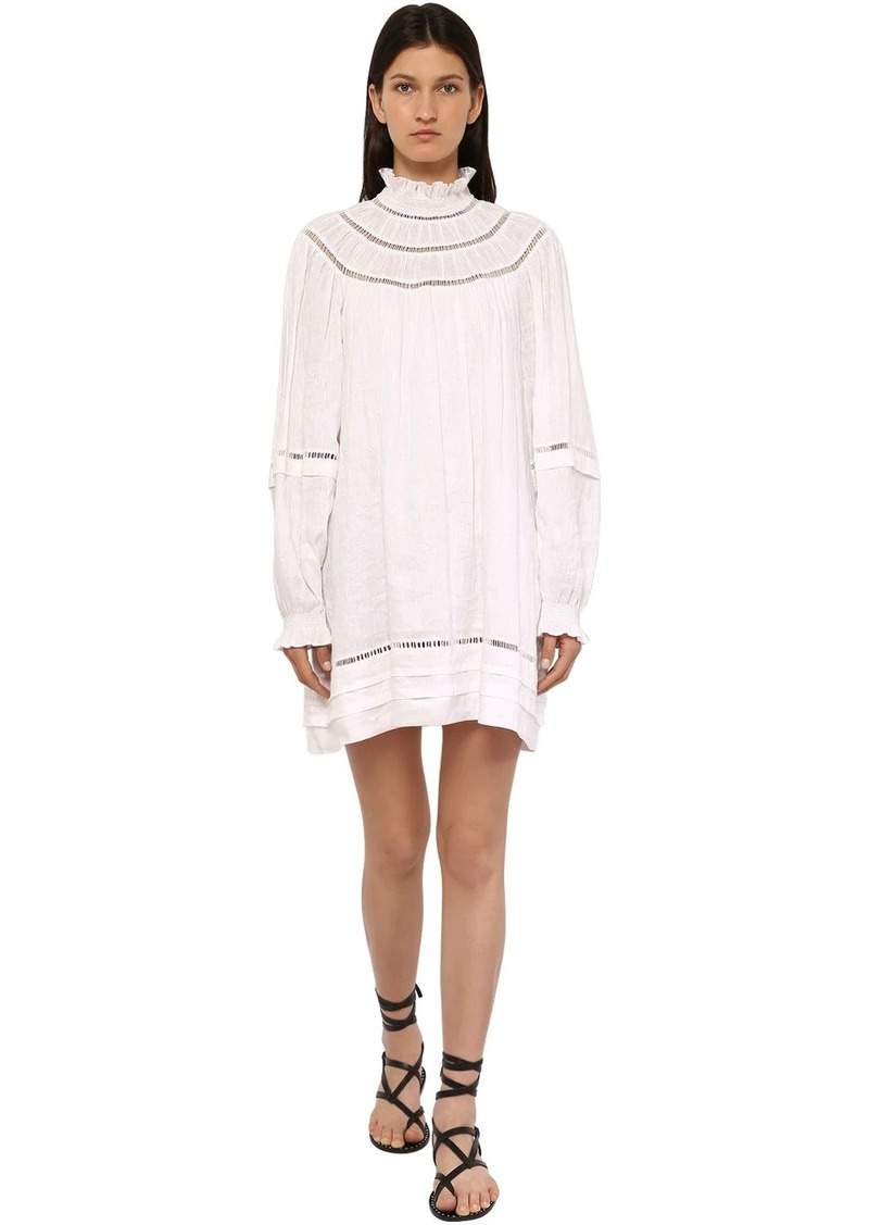 Isabel Marant Adenia Linen Mini Dress