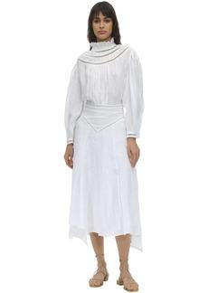 Isabel Marant Albane Linen Midi Dress