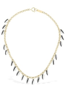 Isabel Marant Amer Charm Chocker Necklace