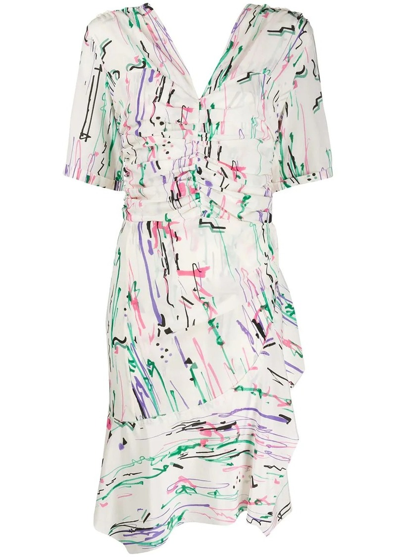 Isabel Marant Arodie ruffled dress