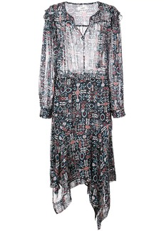 Isabel Marant Aztec print midi dress