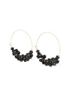 Isabel Marant Beaded Hoop Earrings