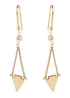 Isabel Marant Beaded Triangle Drop Earrings