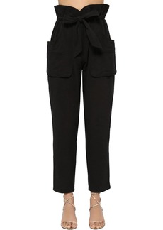 Isabel Marant Bessie Padded Canvas Pants