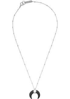Isabel Marant Black & Silver Zanzibar Necklace