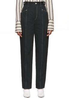 Isabel Marant Black Contrast Genie Jeans