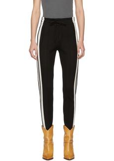 Isabel Marant Black Dario Lounge Pants