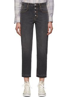 Isabel Marant Black Garance Jeans