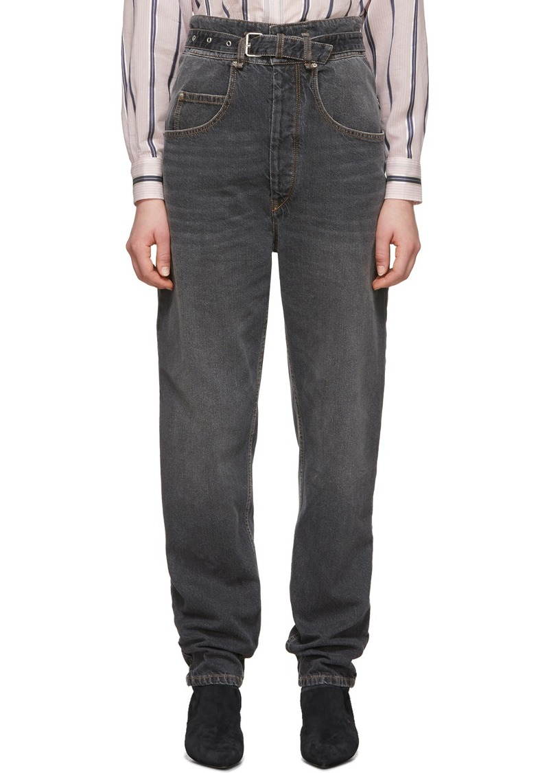 Isabel Marant Black Gloria Jeans