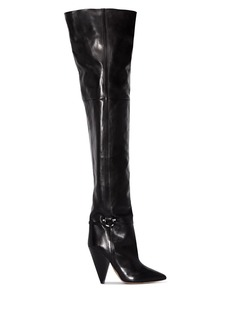 Isabel Marant Lage 95mm thigh high boots