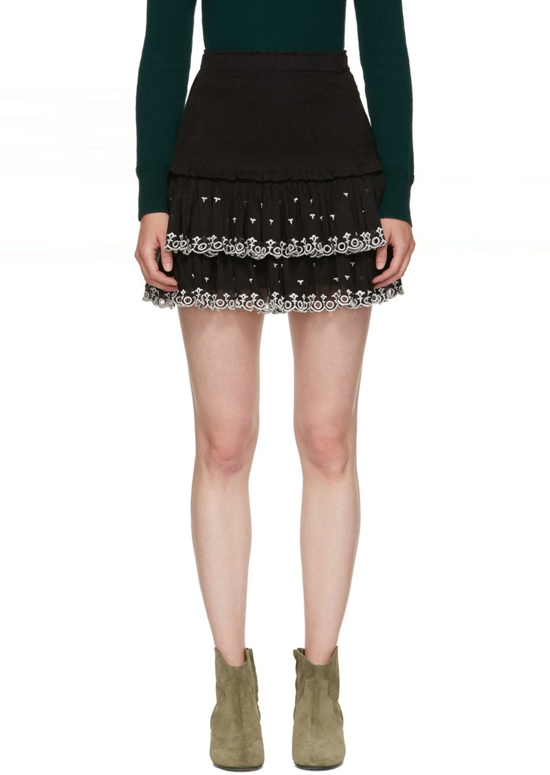 c82c44cf73 Isabel Marant Black Naomi Skirt | Skirts