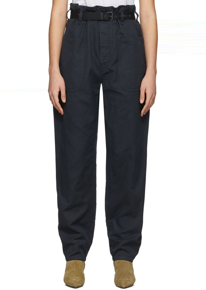 Isabel Marant Black Rinny Trousers