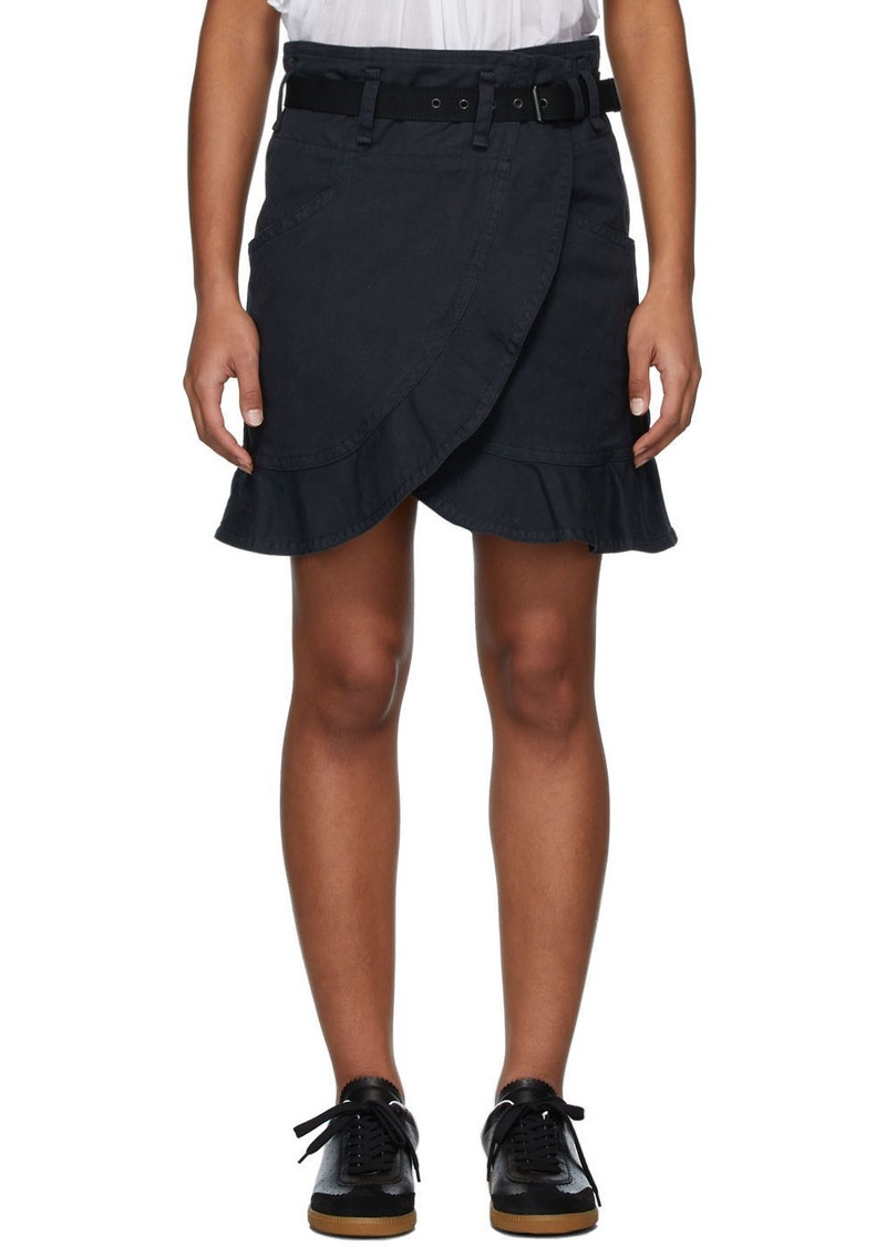 Isabel Marant Black Roan Miniskirt
