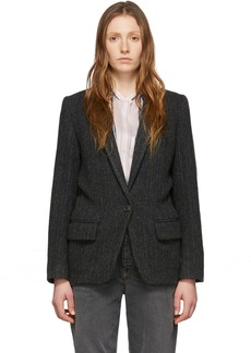 Isabel Marant Black Wool Charly Jacket