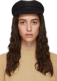 Isabel Marant Black Wool Evie Cap