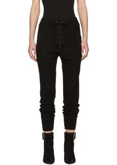 Isabel Marant Black Wool Jeptha Lounge Pants