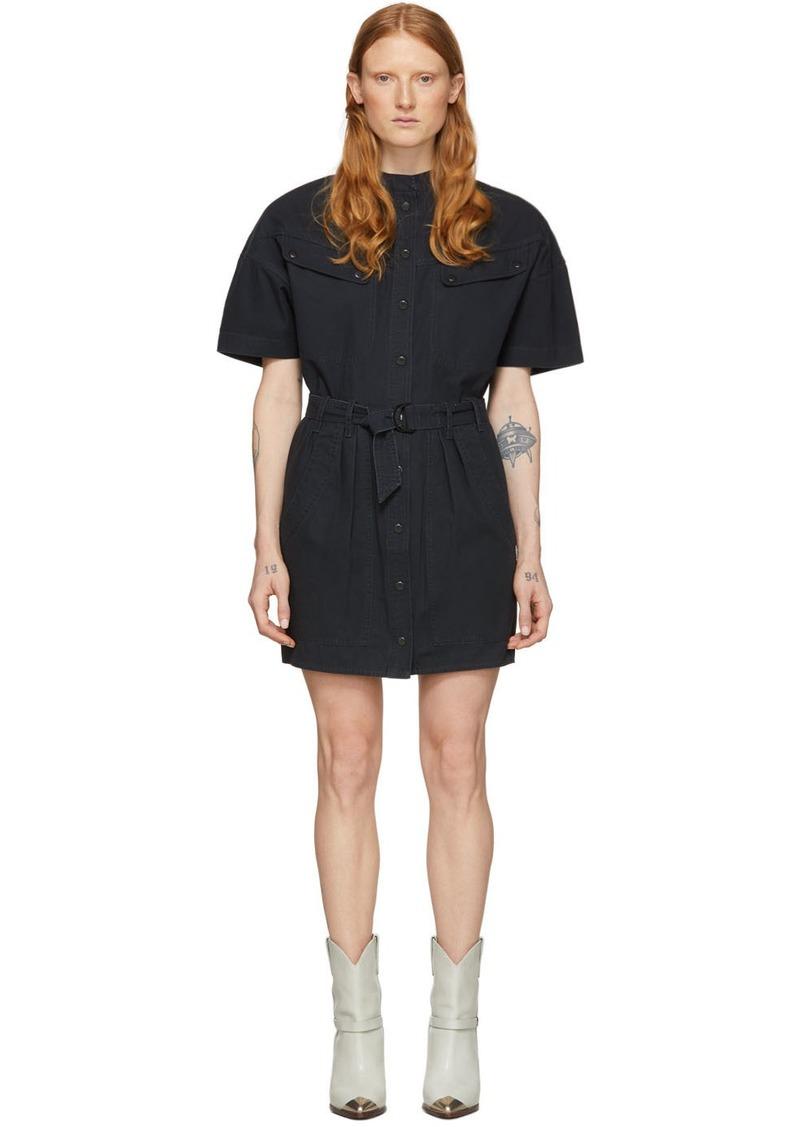 Isabel Marant Black Zolina Dress