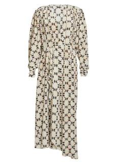 Isabel Marant Blaine Printed Stretch-Silk Maxi Dress