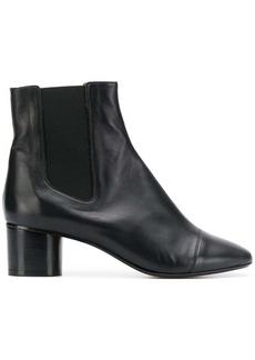 Isabel Marant block heel ankle boots