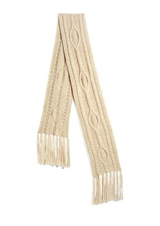 Isabel Marant Blow Cable Fringe Scarf