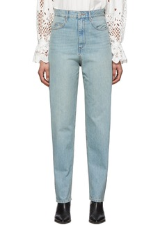 Isabel Marant Blue Corsyj Jeans