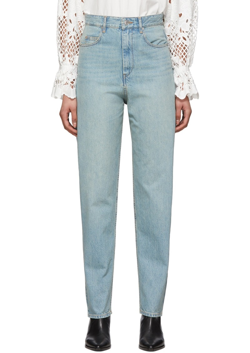 Isabel Marant Blue Corsyj Jeans