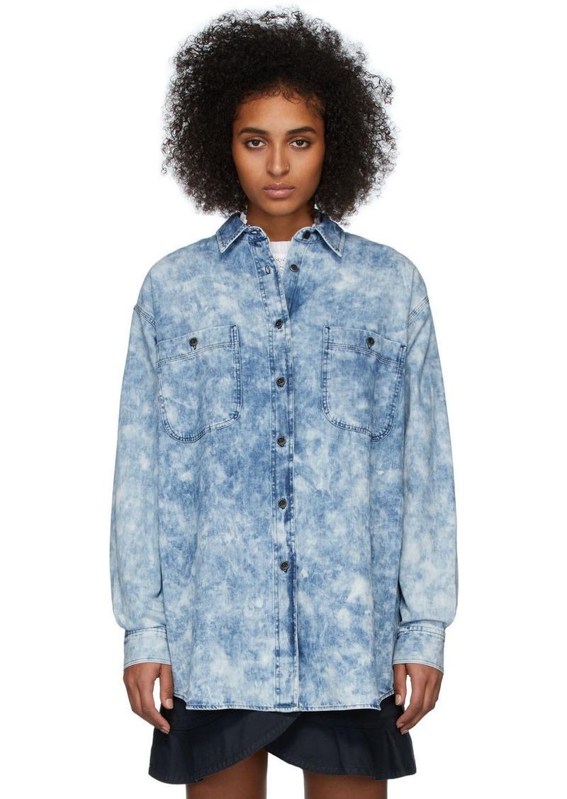 Isabel Marant Blue Denim Lynton Shirt