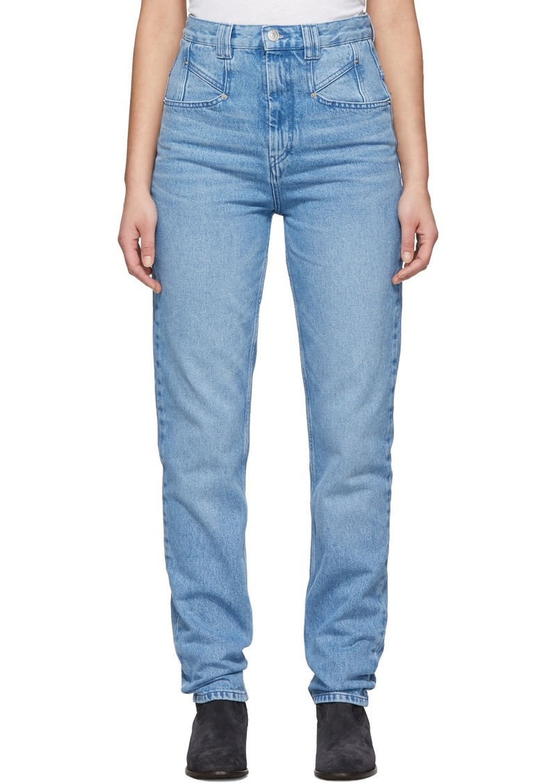 Isabel Marant Blue Dominic Jeans