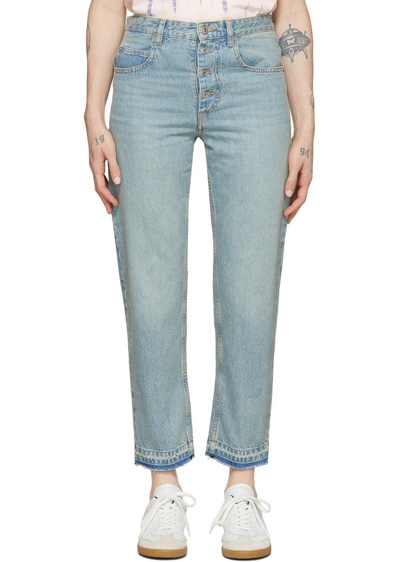 Isabel Marant Blue Garance Jeans