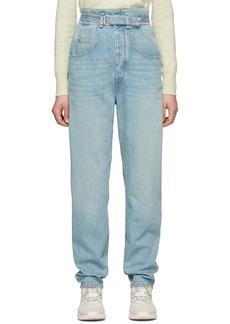 Isabel Marant Blue Gloria Jeans