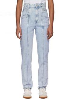 Isabel Marant Blue Henoya Jeans