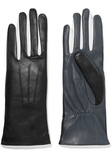 Isabel Marant Bocker Color-block Leather Gloves