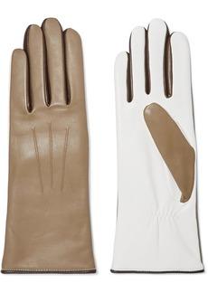 Isabel Marant Bocker Color-block Leather Gloves