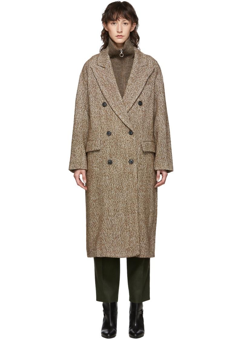 Isabel Marant Brown Habra Coat