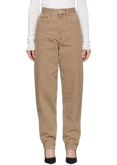 Isabel Marant Brown Oversize Corsy Jeans