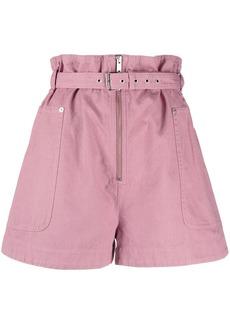 Isabel Marant buckle-detail shorts