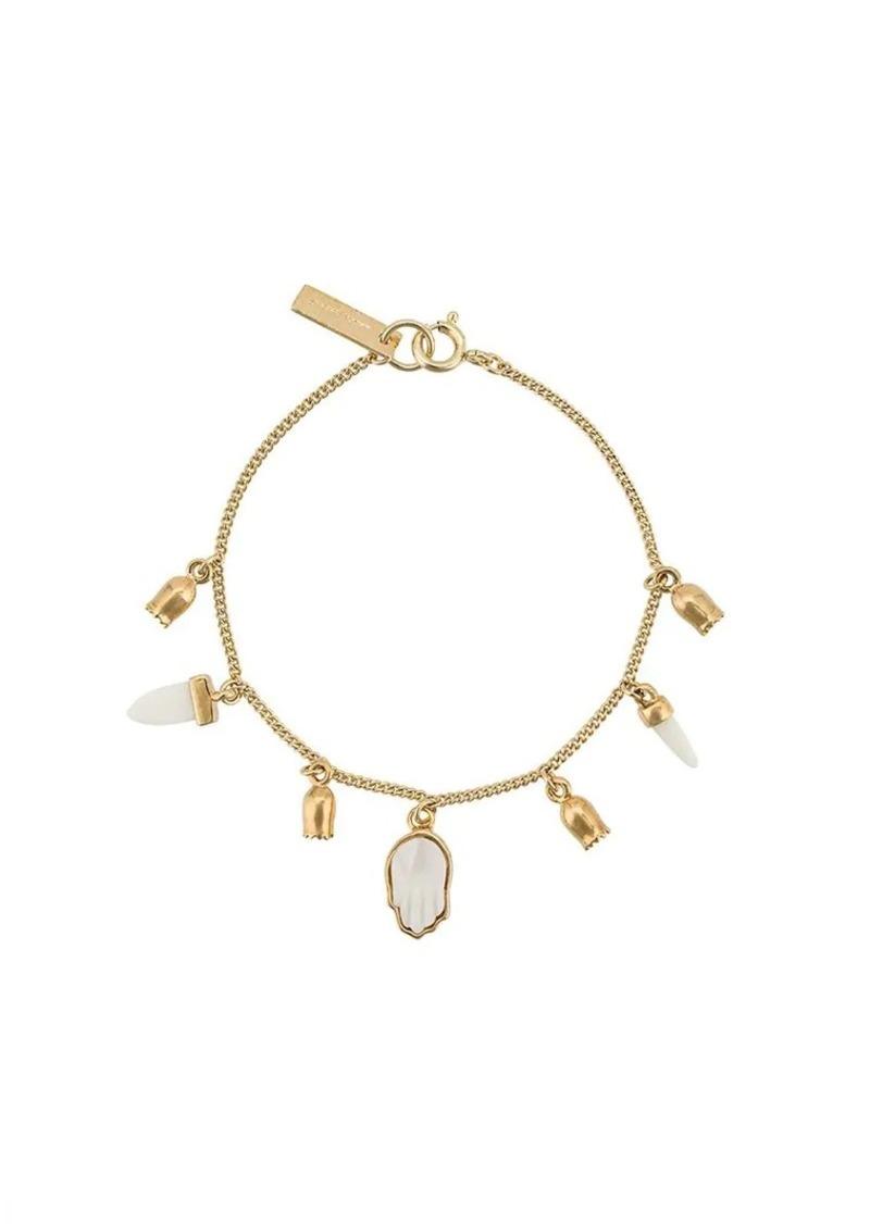 Isabel Marant buffalo bone charm bracelet