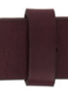 Isabel Marant Burgundy Zap Belt