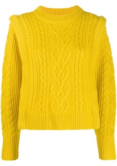 Isabel Marant cable knit sweater